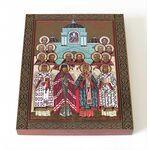 Собор Белгородских новомучеников, икона на доске 8*10 см - Иконы