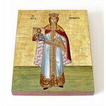 Праведная Феодора, царица Греческая, икона на доске 8*10 см - Иконы