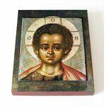 Христос Эммануил, икона на доске 8*10 см - Иконы