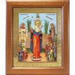 """Икона Божией Матери """"Всех скорбящих Радость"""" с грошиками, 19*22,5 - Иконы"""
