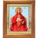 """Икона Божией Матери """"Державная"""", широкая рамка 19*22,5 см - Иконы"""