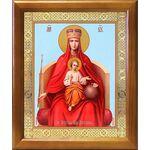 """Икона Божией Матери """"Державная"""", деревянная рамка 17,5*20,5 см - Иконы"""