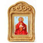 """Икона Божией Матери """"Державная"""", резная деревянная рамка - Иконы"""