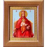 """Икона Божией Матери """"Державная"""", широкая рамка 14,5*16,5 - Иконы"""