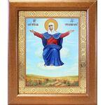 """Икона Божией Матери """"Спорительница хлебов"""", широкая рамка 19*22,5 см - Иконы"""