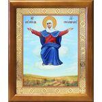 """Икона Божией Матери """"Спорительница хлебов"""", рамка 17,5*20,5 см - Иконы"""