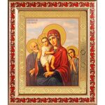 """Икона Божией Матери """"Трех Радостей"""", рамка с узором 19*22,5 см - Иконы"""