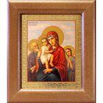 """Икона Божией Матери """"Трех Радостей"""", широкая рамка 14,5*16,5 - Иконы"""