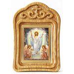 Воскресение Христово, резная деревянная рамка - Иконы
