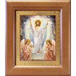Воскресение Христово, икона в широкой рамке 14,5*16,5 см - Иконы