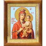 """Икона Божией Матери """"Скоропослушница"""", деревянная рамка 17,5*20,5 - Иконы"""