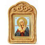 """Икона Божией Матери """"Умиление"""", резная деревянная рамка - Иконы"""
