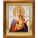 """Икона Божией Матери """"Аз есмь с вами и никтоже на вы"""", рамка 17,5*20,5 - Иконы"""
