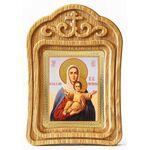 """Икона Божией Матери """"Аз есмь с вами и никтоже на вы"""", резная рамка - Иконы"""