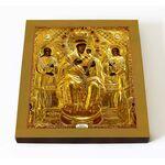 Кипрская Стромынская икона Божией Матери, печать на доске 14,5*16,5 см - Иконы