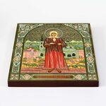 Блаженная Ксения Петербургская, икона на доске 22*25 см - Иконы