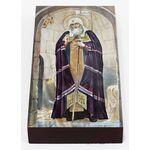 Священномученик Ермоген патриарх Московский, икона на доске 7*13 см - Иконы