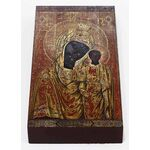 Табынская икона Божией Матери, печать на доске 7*13 см - Иконы