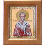 Святитель Мирон Критский, икона в широкой рамке 14,5*16,5 см - Иконы