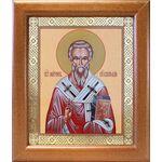 Святитель Мирон Критский, икона в широкой рамке 19*22,5 см - Иконы