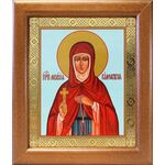 Преподобная Мелания Римляныня, икона в широкой рамке 19*22,5 см - Иконы
