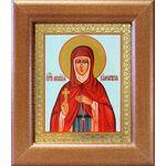 Преподобная Мелания Римляныня, икона в широкой рамке 14,5*16,5 см - Иконы