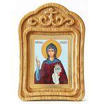 Преподобная София Суздальская, икона в резной рамке - Иконы