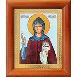 Преподобная София Суздальская, икона в рамке 8*9,5 см - Иконы