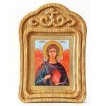 Архангел Уриил, икона в резной рамке - Иконы