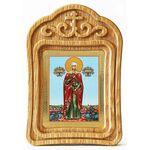 Мученица Валерия Кесарийская, Калерия, икона в резной рамке - Иконы