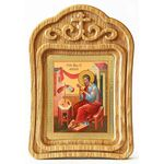 Апостол Матфей, евангелист, икона в резной рамке - Иконы