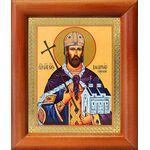 Благоверный князь Владислав Сербский, икона в рамке 8*9,5 см - Иконы