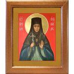 Преподобномученица Ева Павлова, игумения, широкая рамка 19*22,5 см - Иконы