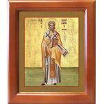 Священномученик Поликарп, епископ Смирнский, икона в рамке 12,5*14,5см - Иконы