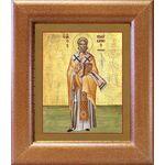 Священномученик Поликарп, епископ Смирнский, широкая рамка 14,5*16,5см - Иконы