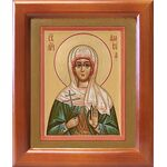 Мученица Вевея Едесская, Февея, Вивея, икона в рамке 12,5*14,5 см - Иконы