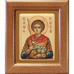 Мученик Валерий Севастийский, икона в широкой рамке 14,5*16,5 см - Иконы