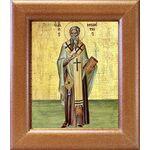 Святитель Мелетий Антиохийский, икона в широкой рамке 14,5*16,5 см - Иконы