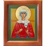 Мученица Ирина Аквилейская, икона в рамке 12,5*14,5 см - Иконы