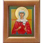 Мученица Ирина Аквилейская, икона в широкой рамке 14,5*16,5 см - Иконы