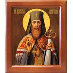 Святитель Иннокентий Иркутский, икона в рамке 12,5*14,5 см - Иконы