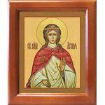 Мученица Агния Римская, Анна, дева, икона в рамке 12,5*14,5 см - Иконы