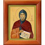 Преподобный Феодосий Тотемский, икона в рамке 8*9,5 см - Иконы