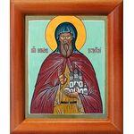 Преподобный Киприан Устюжский, икона в рамке 8*9,5 см - Иконы