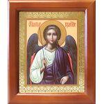 Ангел Хранитель, икона в деревянной рамке 12,5*14,5 см - Иконы