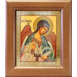 Ангел Хранитель поясной, икона в широкой рамке 14,5*16,5 см - Иконы