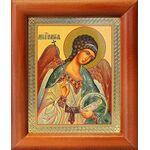 Ангел Хранитель поясной, икона в рамке 8*9,5 см - Иконы