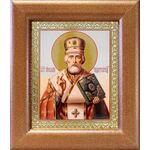 Святитель Николай Чудотворец, в широкой рамке 14,5*16,5 см - Иконы