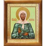 Святая блаженная Матрона Московская, икона в рамке 17,5*20,5 см - Иконы