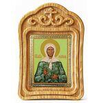 Блаженная Матрона Московская, икона в резной рамке - Иконы
